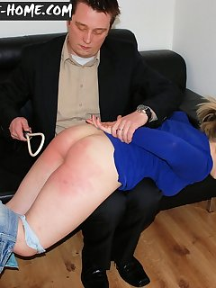 12 of Bad girl get spanked