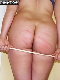 12 of Strict lesson for young girl