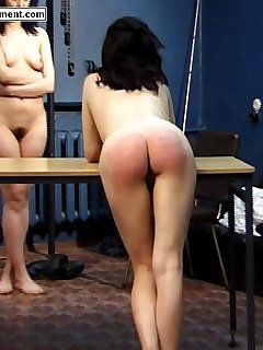 16 of Brutal caning of pretty girl - streaming tears and blistered ass cheeks