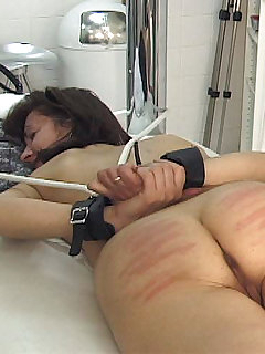 16 of Humiliating medical room examinations and well paddled asses for two naughty nurses