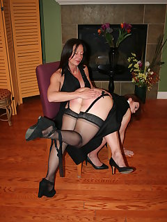 8 of Ms Venus Divine spanks Summer Hart