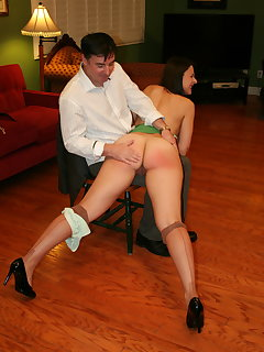 <!–-IMAGE_COUNT-–> of John spanks Sarah part.2