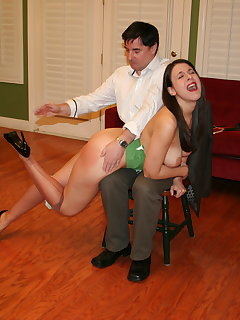 8 of John spanks Sarah part-1