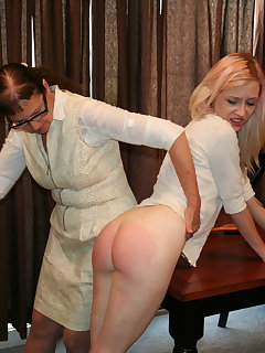 8 of Violet October and Eve Howard in Motivational Spanking