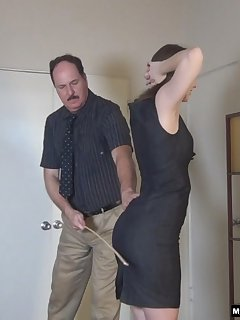 <!–-IMAGE_COUNT-–> of Secretary Alaina Fox Spanked and Caned