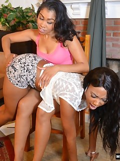 <!–-IMAGE_COUNT-–> of Yasmine and Chanell become spanking Roommates