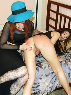 16 of Mom spanked Nella