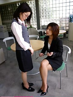 16 of Office girl gets hard spanked