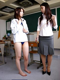 <!–-IMAGE_COUNT-–> of Caning of japan schoolgirl