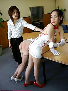 16 of Bad secretary spanked by ruler