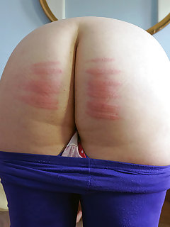 Chubby spanking pictures