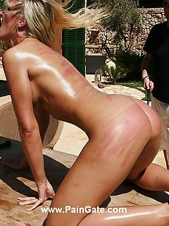 18 of  Extreme ass whipping torture