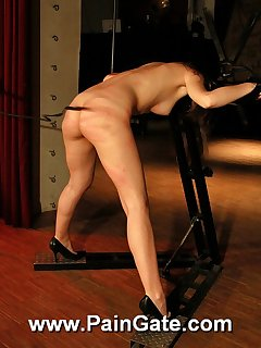 18 of Hot Lola under hard whiplashes