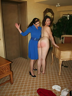 <!–-IMAGE_COUNT-–> of Eve Howard spanks Sarah Gregory