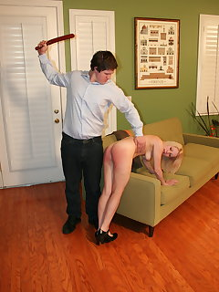 8 of Julie spanked strapped
