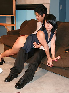 Asian spanking pictures