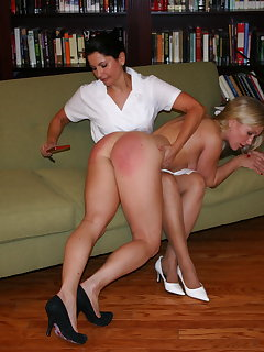 8 of Nurse Christie spanks Dia Zerva