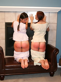 <!–-IMAGE_COUNT-–> of Sarah uniform spanking