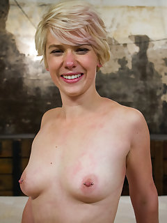 <!–-IMAGE_COUNT-–> of Cute blond dominated in tight bondage