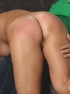<!–-IMAGE_COUNT-–> of Anita - Spanking, Rectal Temperature and Suppository
