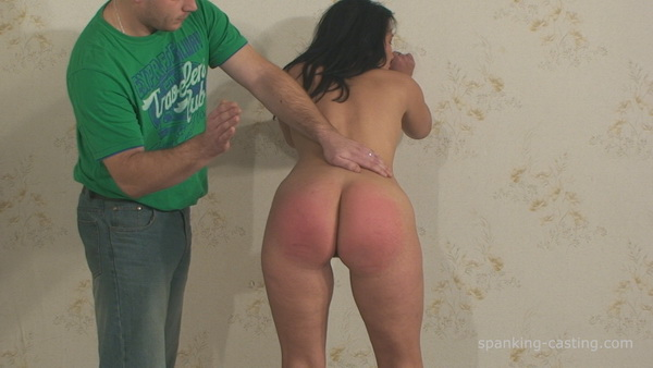 Hard rough spank casting