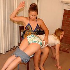 Forced Spanking
