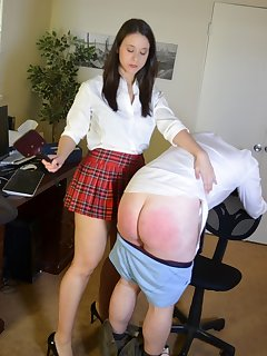 16 of Sarah Gregory Spanks Her Teacher