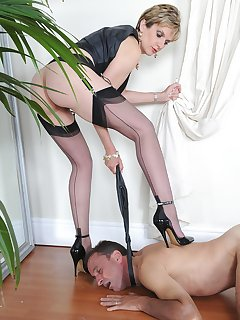 16 of Slave on his knees