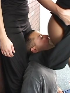 6 of to Put on the Wall Facing Her Ass for Smothering