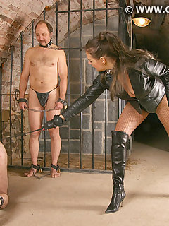 12 of IMPRISONED BY DOMINATRIX DINAH 1