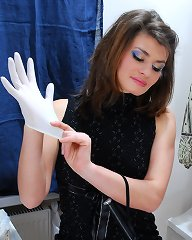 Young mistress invents the most twisted torments for the old crossdresser
