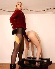 Blonde torture slaveboy