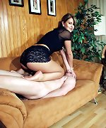 Domina and her slave