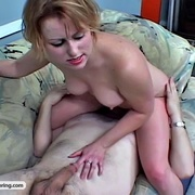 Sweet young babe loves getting her ass worshipped