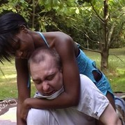 Interracial smother and facesit