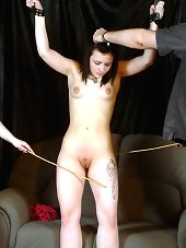 Lesbian Caning