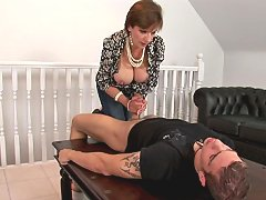 English mature handjobs repair guy