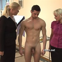 Boy undresses undressed then he receives a hand job