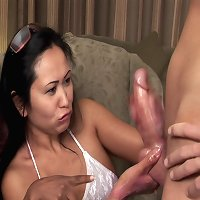 Suki and Tammy jerk cock hung guy