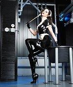 Gothic latex maid
