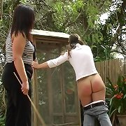 Outdoor bottom caning