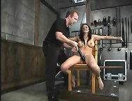 Tied and ass fucked slavegirl