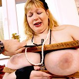 Big Girl Gets the Wooden Vice!