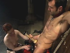 Claire Adams & Claire Rigs team up, torture & assfuck their slave