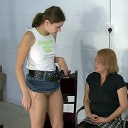 Teen was spanked otk