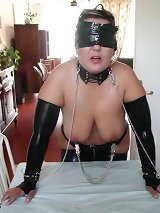 Bound and gagged girls