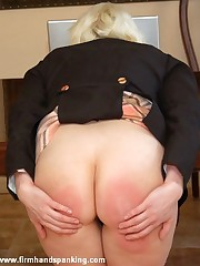 Pulchritudinous newbie Stacy Stockton takes the brush first-ever spanking