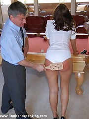 Firm Hand Spanking Picture