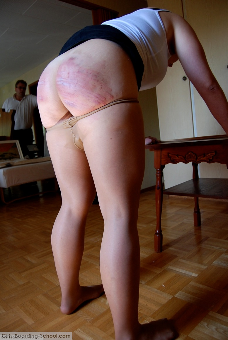 pics of spanked pantyhose