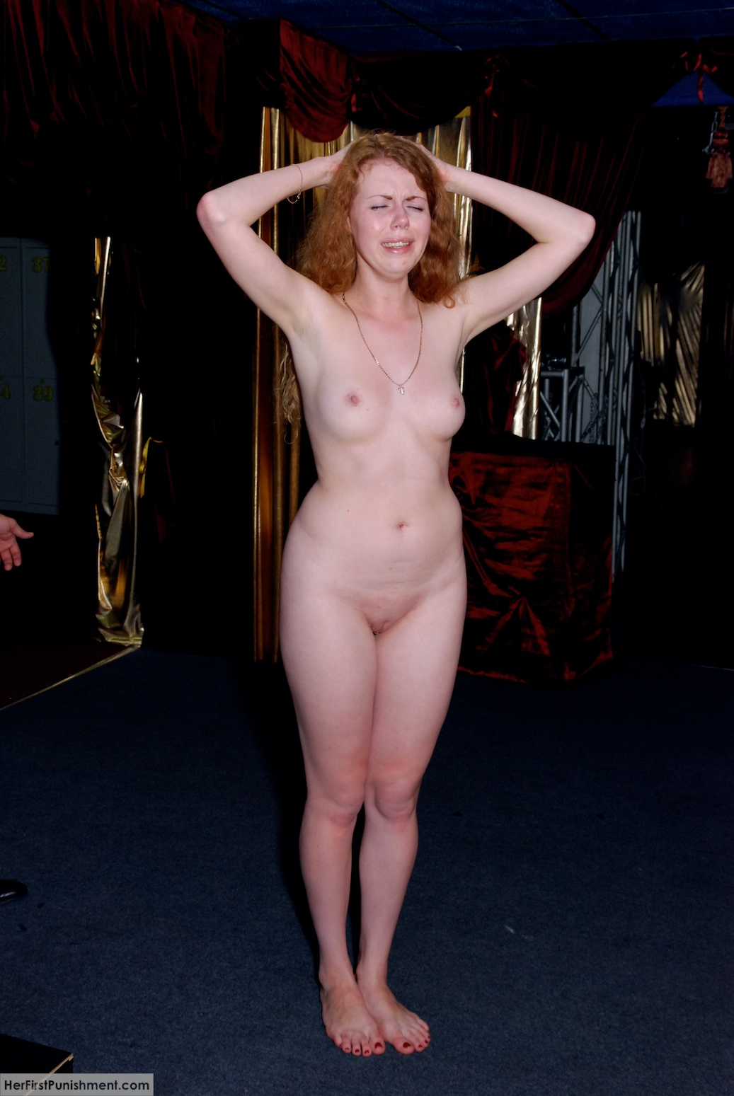 naked girl for punishment